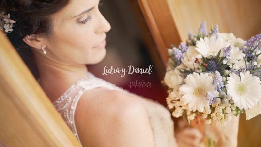 Lidia y daniel boda elegante sentida